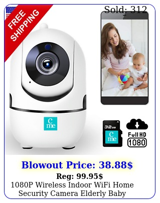 p wireless indoor wifi home security camera elderly baby monitor dog pet sp