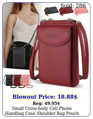 small crossbody cell phone handbag case shoulder bag pouch purse wallet wome