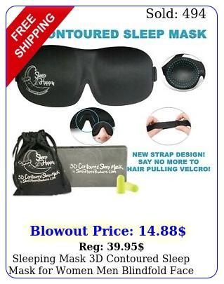 sleeping mask d contoured sleep mask women men blindfold face masks eyemas
