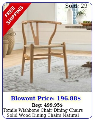 tomile wishbone chair dining chairs solid wood dining chairs natural wood colo