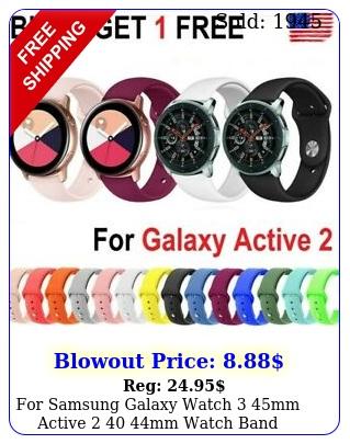 samsung galaxy watch mm active  mm watch band silicone sport stra