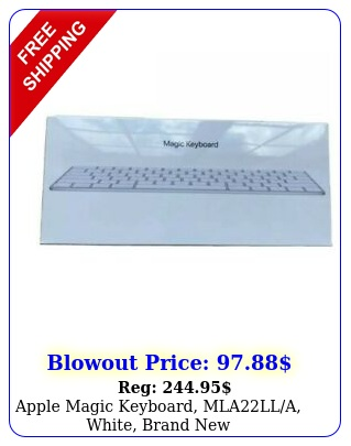 apple magic keyboard mlalla white brand ne