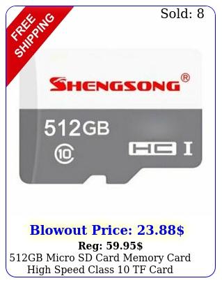 gb micro sd card memory card high speed class tf car