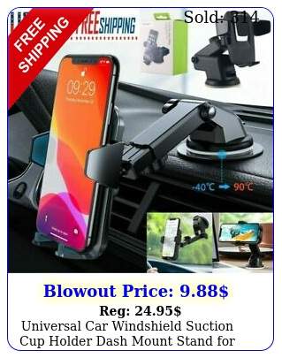 universal car windshield suction cup holder dash mount stand cell phone gp