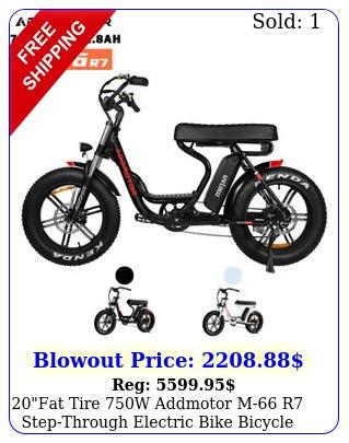 fat tire w addmotor m r stepthrough electric bike bicycle lcd displa