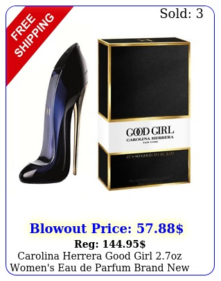 carolina herrera good girl oz women's eau de parfum brand factory seale