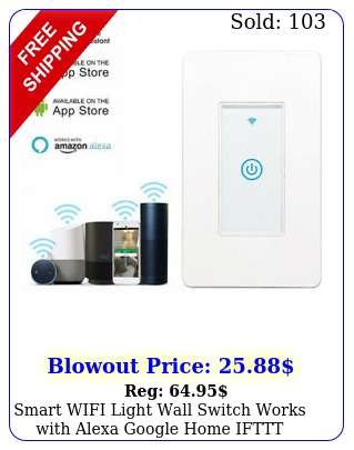 smart wifi light wall switch works with alexa google home ifttt safety life ap