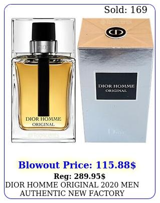 dior homme original men authentic factory sealed ml oz ed
