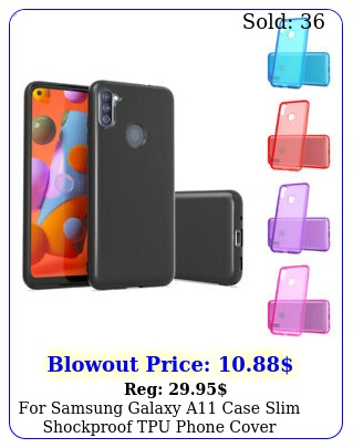 samsung galaxy a case slim shockproof tpu phone cover tempered glas