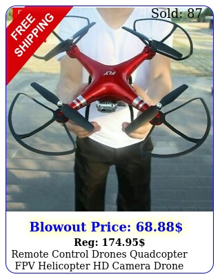 remote control drones quadcopter fpv helicopter hd camera drone flying u