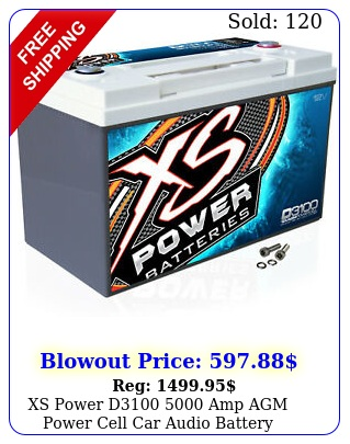 xs power d amp agm power cell car audio battery  terminal hardwar