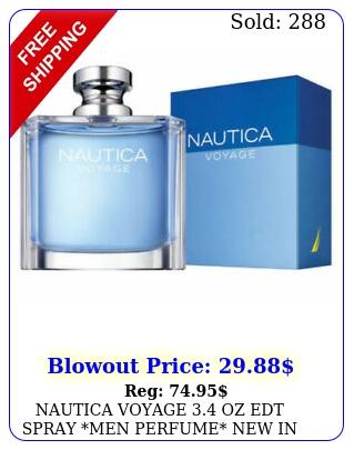 nautica voyage oz edt spray men perfume i