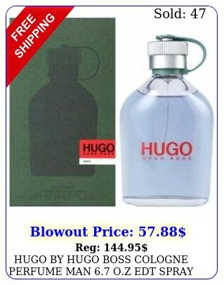 hugo by hugo boss cologne perfume man oz edt spray new in me