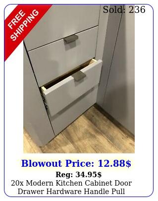 x modern kitchen cabinet door drawer hardware handle pull bathroom knob handl