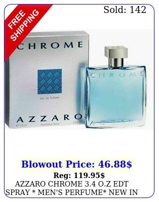 azzaro chrome oz edt spray men's perfume i