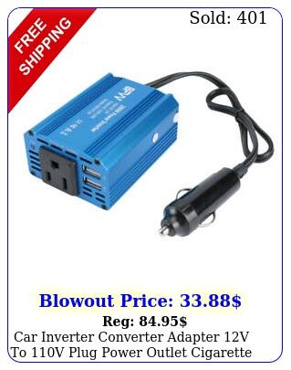 car inverter converter adapter v to v plug power outlet cigarette lighte