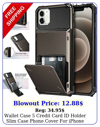 wallet case credit card id holder slim case phone cover iphone  xr x