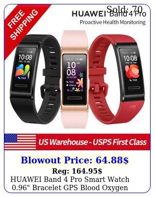 huawei band pro smart watch bracelet gps blood oxygen heart rate monito