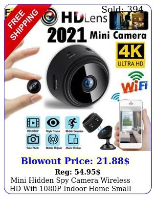 mini hidden spy camera wireless hd wifi p indoor home small security cam dv