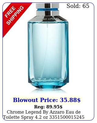 chrome legend by azzaro eau de toilette spray o