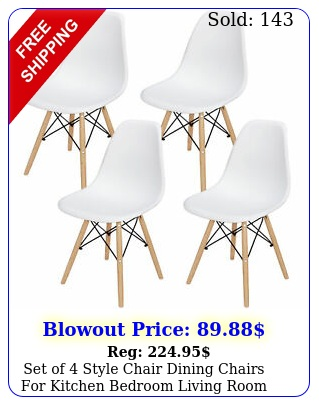 set of style chair dining chairs kitchen bedroom living room whit