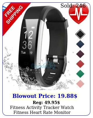 fitness activity tracker watch fitness heart rate monitor pedometer waterproo