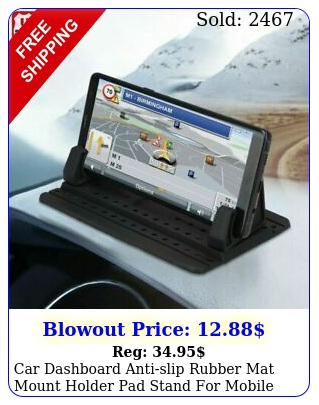 car dashboard antislip rubber mat mount holder pad stand mobile phone gp