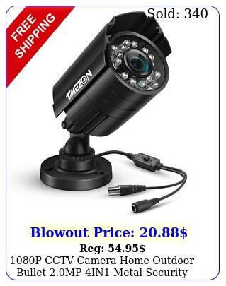 p cctv camera home outdoor bullet mp in metal security camera le
