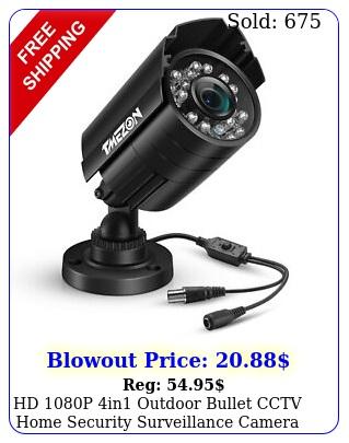 hd p in outdoor bullet cctv home security surveillance camera ir nigh