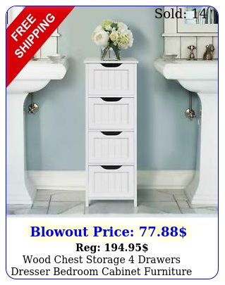 wood chest storage drawers dresser bedroom cabinet furniture toys organize