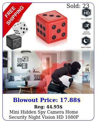 mini hidden spy camera home security night vision hd p motion detection g