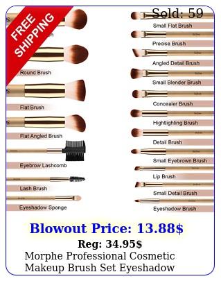 morphe professional cosmetic makeup brush set eyeshadow foundation brushes p