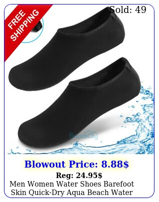 men women water shoes barefoot skin quickdry aqua beach water swim sports sock