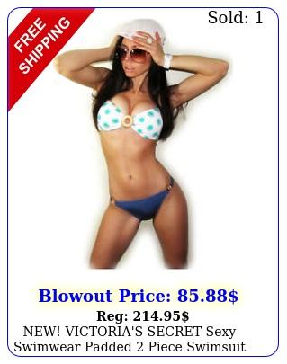 new victoria's secret sexy swimwear padded piece swimsuit bikini set xs s m