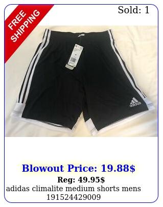 adidas climalite medium shorts men
