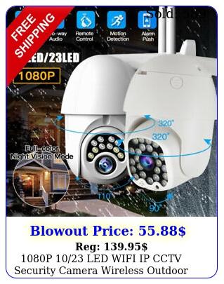 p led wifi ip cctv security camera wireless outdoor hd home ptz ir ca