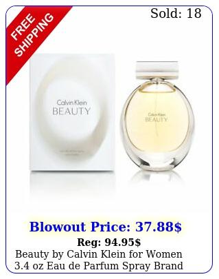beauty by calvin klein women oz eau de parfum spray bran