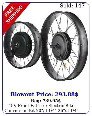 v front fat tire electric bike conversion kit   width ri
