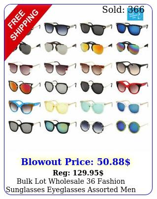 bulk lot wholesale fashion sunglasses eyeglasses assorted men women style