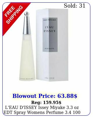 l'eau d'issey issey miyake oz edt spray womens perfume  ml ni
