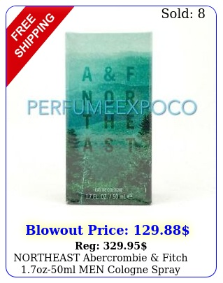 northeast abercrombie fitch ozml men cologne spray discontinued b