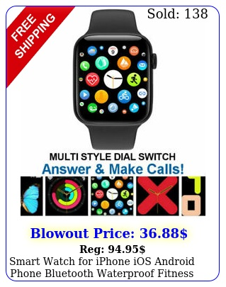 smart watch iphone ios android phone bluetooth waterproof fitness tracker u
