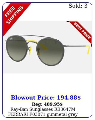 rayban sunglasses rbm ferrari f gunmetal gre
