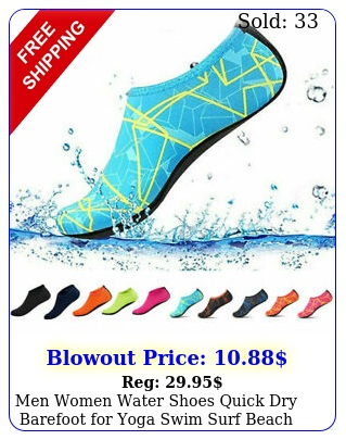 men women water shoes quick dry barefoot yoga swim surf beach walking u