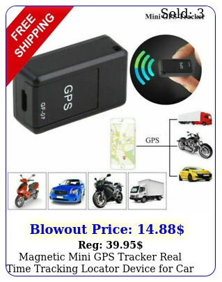 magnetic mini gps tracker real time tracking locator device car motorcycl