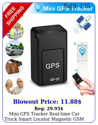 mini gps tracker realtime car truck smart locator magnetic gsm tracking devic