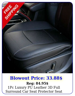 pc luxury pu leather d full surround car seat protector seat cover accessorie