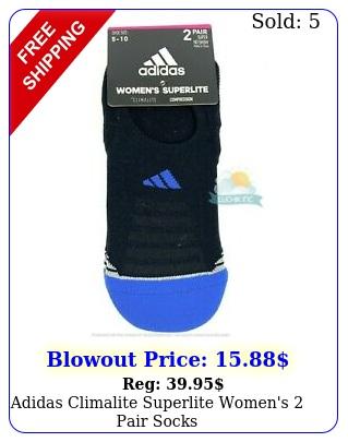adidas climalite superlite women's pair sock