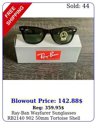 rayban wayfarer sunglasses rb mm tortoise shell frameg green len