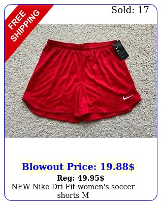 nike dri fit women's soccer shorts